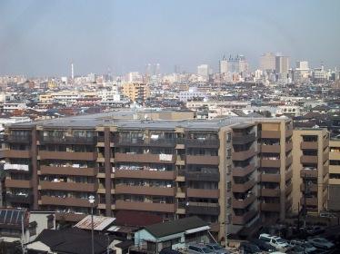 Blick über Kawasaki
