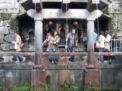 Kiyomizudera Tempel das heilige Wasser