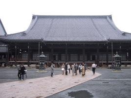Nishi-Honganji Tempel