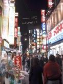 eine der vielen Einkaufsmeile in Tokyo, hier der Elektronik Bereich