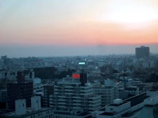 Tokyo in der Morgendämmerung
