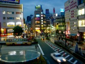 Hachioji Fußgängerzone