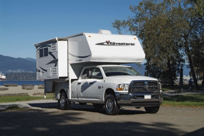 Unser erster Truck Camper Urlaub