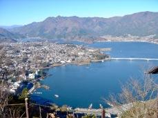 Blick auf den Kawaguchi-See