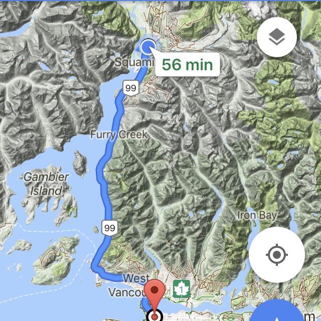 Vancouver - Squamish