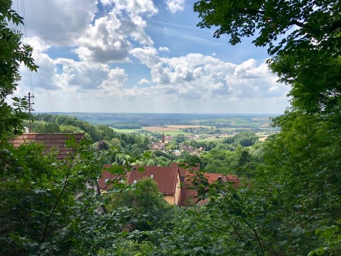 schöne Aussicht von Oberrüsselbach