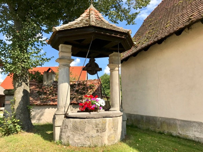Barocker Dorfbrunnen in Weppersdorf