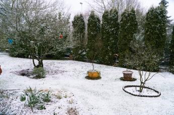 früher Nachmittag, es beginnt zu schneien 🤔
