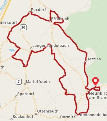Rad- und Wandertouren zu den Sühnekreuzen im Ldk. Forchheim, Erlangen-Höchstadt und Nürnberg IV