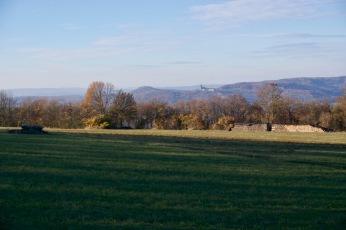 Blick zum Kloster Banz