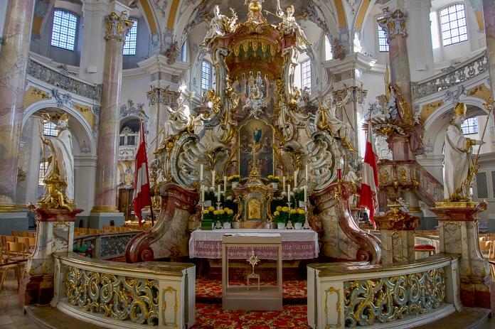 Der Gnadenaltar der Basilika Vierzehnheiligen