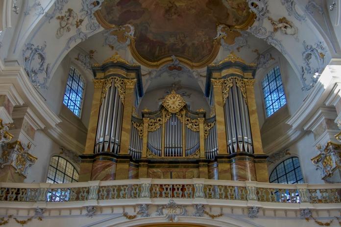 Die Rieger-Orgel der Basilika Vierzehnheiligen