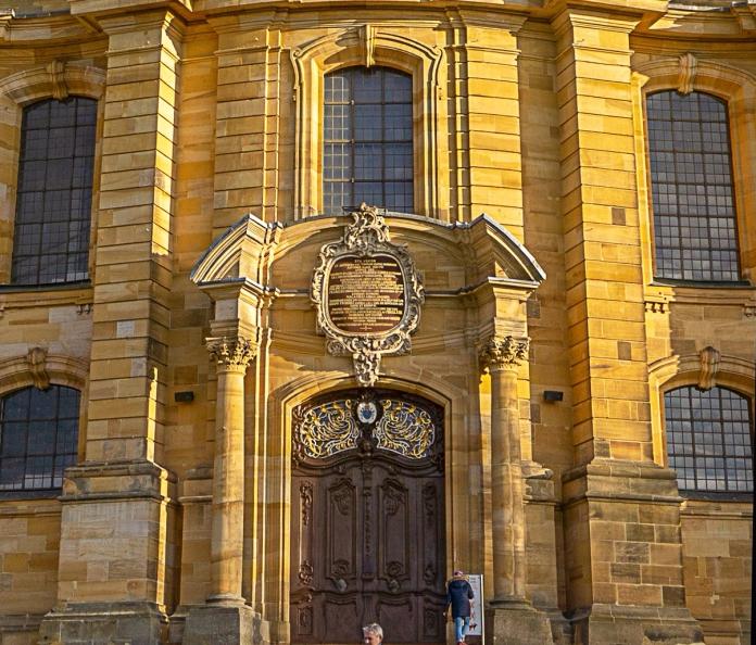 Das westliche Hauptportal der Basilika Vierzehnheiligen