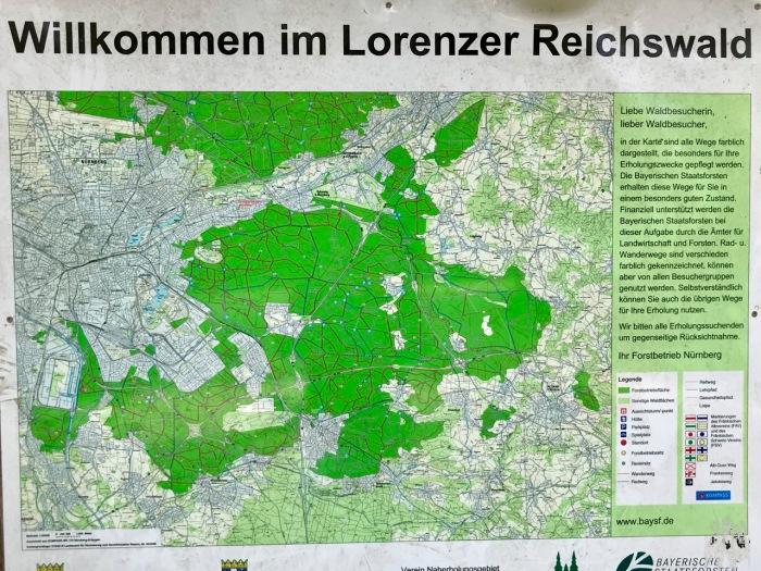 Willkommen im Lorenzer Reichswald