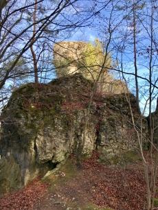 Aufstieg zum Zeckenstein