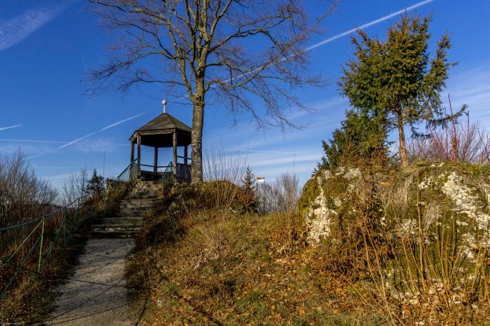 Wagnershöhe mit Pavillon und Aussichtskanzel