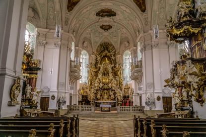 Hochaltar der Basilika Gößweinstein