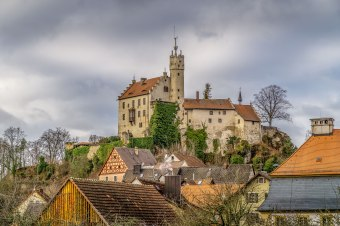 Ausblick auf die Burg Gößweinstein