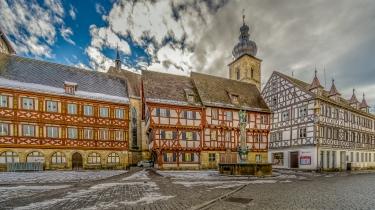 Der Forchheimer Rathausplatz