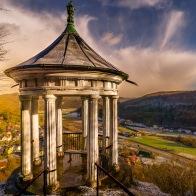 Prinz Rupprecht Pavillon mit Blick ins Wiesenttal