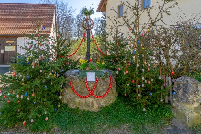 Osterbrunnen in Aufseß