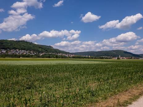 auf dem Weg nach Ebermannstadt