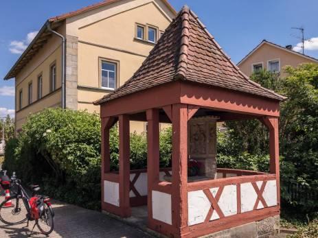 schöner alter Brunnen in Eggolsheim