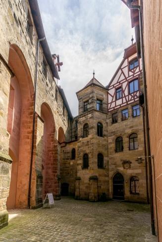 Innenhof vom Wenzelschloss