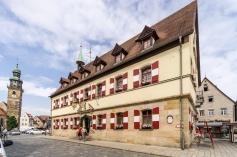 Altes Rathaus am historischen Marktplatz