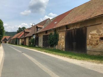 Scheunenviertel in Ebermannstadt