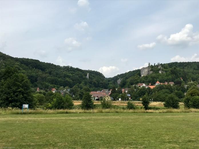 Streitberg mit Burgruine Streitburg