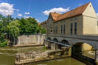 Wasserkraftwerk Hirschaid