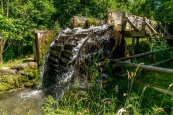 Wasserrad in Egloffstein