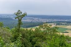 Blick von der Retterner Kanzel ins Regnitztal