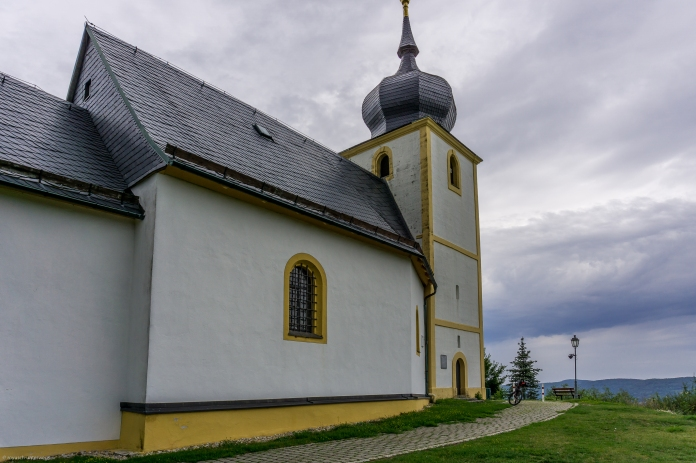 Vexier-Kapelle mit herrlichem Ausblick ins Wiesenttal