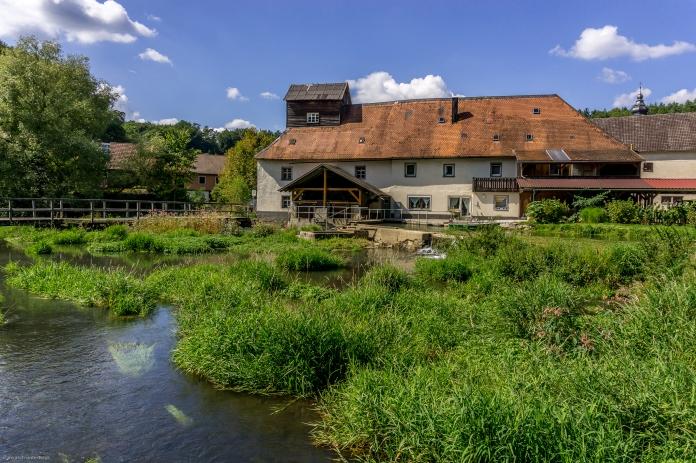 alte Mühle in Nankendorf