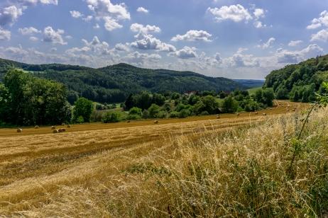 Blick ins Püttlach-Tal