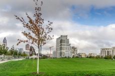 Europa-Park mit neuen Gebäuden auf dem ehemaligen Gelände des Güterbahnhofes