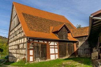 Scheune der ehemaligen Mühle, Leutenbach