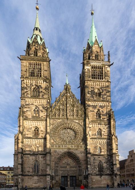 Lorenzkirche Westfassade