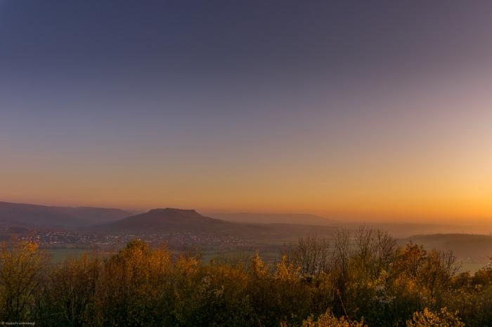 Sonnenuntergang im Wiesenttal