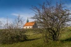 gleich ist es geschafft, die St. Walburgas-Kapelle ist schon zu sehen