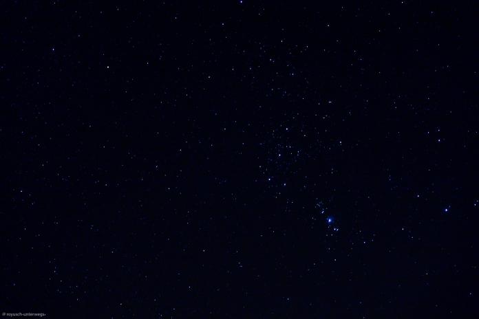 der Oriongürtel herangezoomt