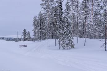 Äkäslompolo / Lappland; Tag 2