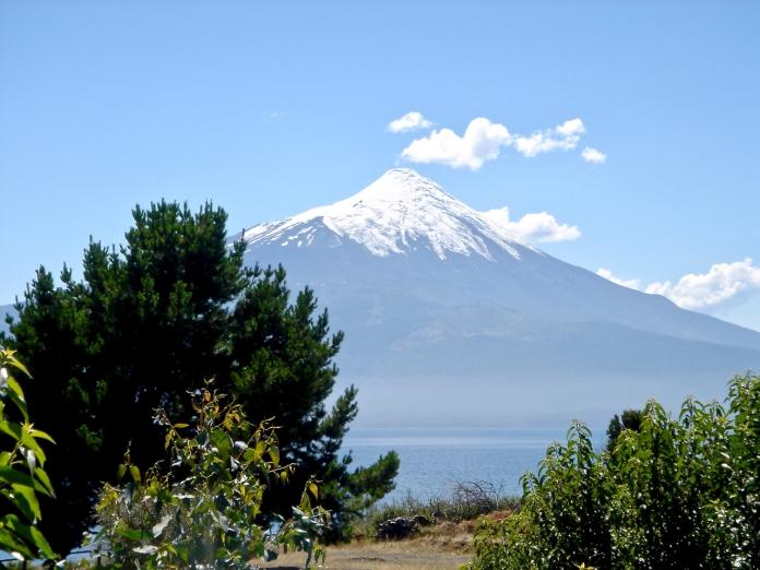 Der Osorno Vulkan im Süden Chiles