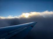 früh morgens auf dem Weg von Albuquerque, New Mexico nach Salt Lake City, Utah